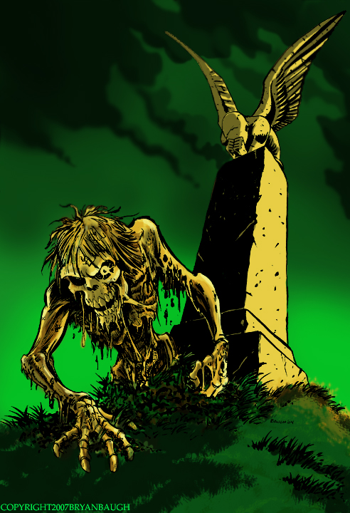 Weeping Grave by BryanBaugh