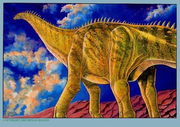 Brontosaurus by BryanBaugh