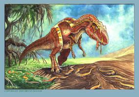Allosaurus by BryanBaugh