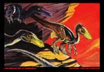 Velociraptors in Mongolia
