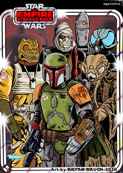 Star Wars 1980: Kenner Bounty Hunters