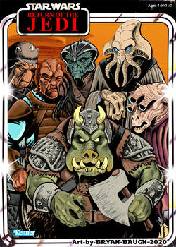 Star Wars 1983: Jabba's Friends