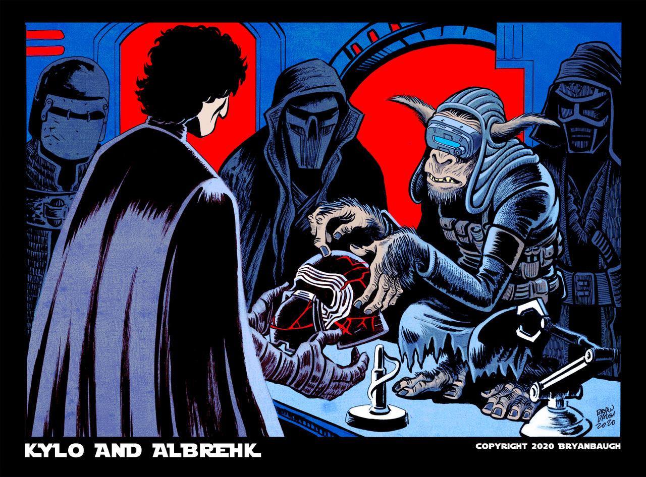 Star Wars ROS: Kylo and Albrehk