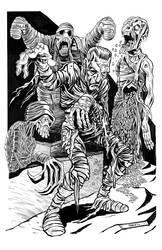 Mummy Madness by BryanBaugh
