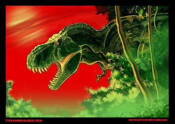 Tyrannosaurus Rex by BryanBaugh