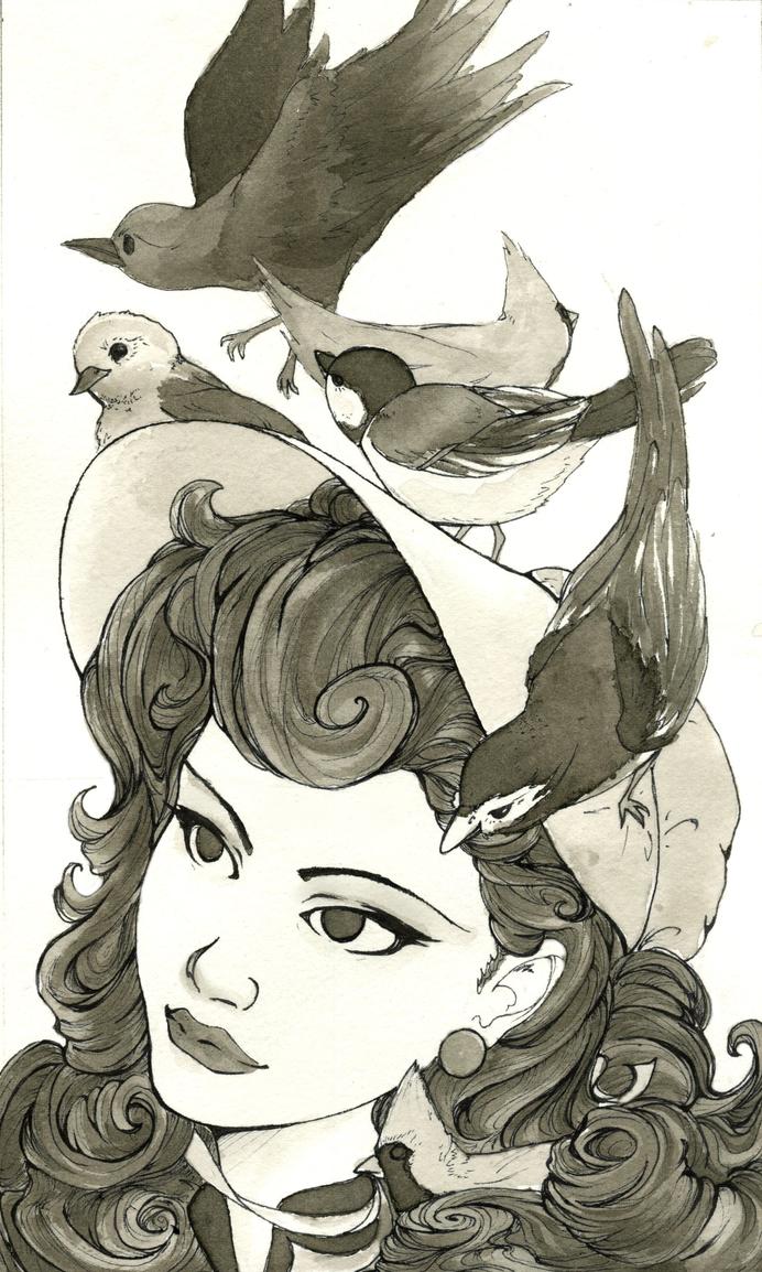 Birds in my bonnet? by sickhypnotic