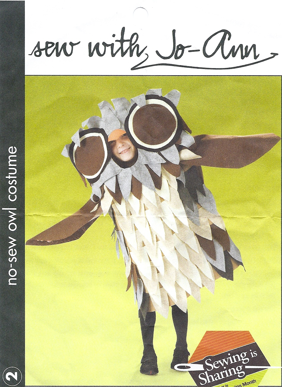 Felt Owl Costume by CeshionCo