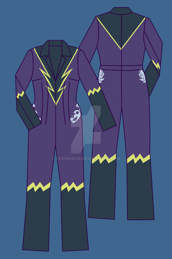 MLP: ShadowBolts Uniform by CeshionCo