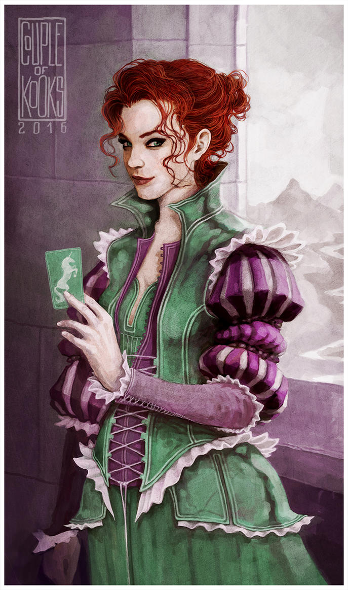Chronicles of Amber: Fiona by coupleofkooks