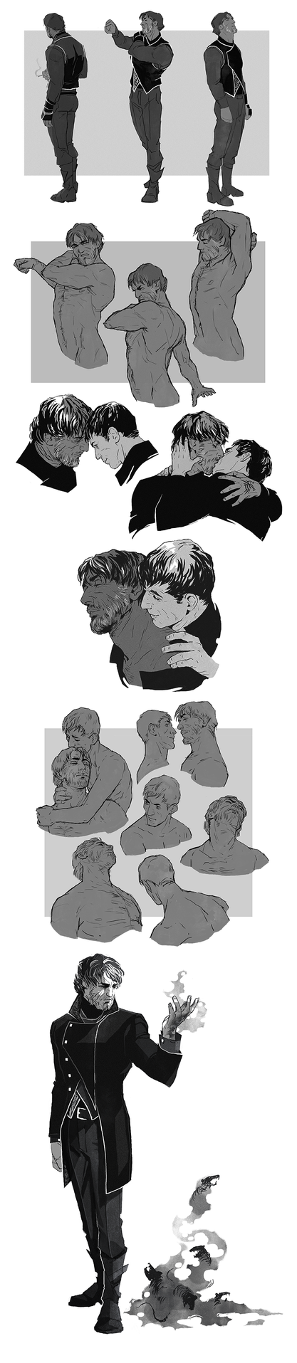 Sketchdump: Even More Corvs by coupleofkooks