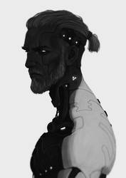 Augmented Geralt by coupleofkooks