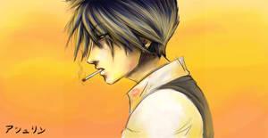 + lipstick and cigarettes +