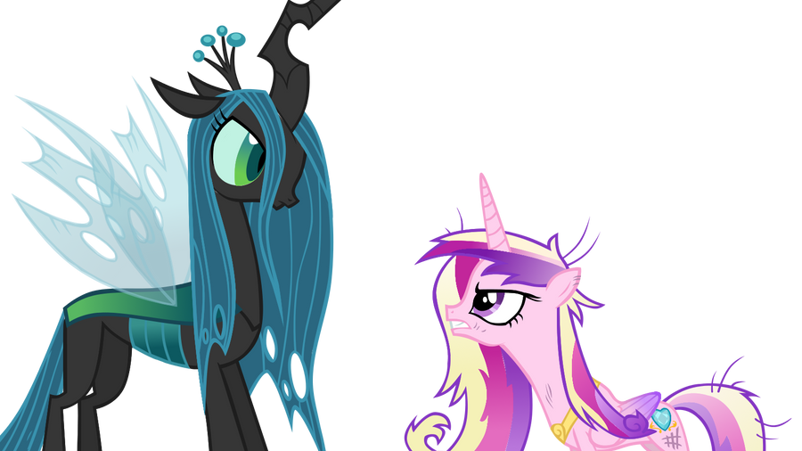 Now featuring, CHRYSALIS AND CADENCE! by megacody2