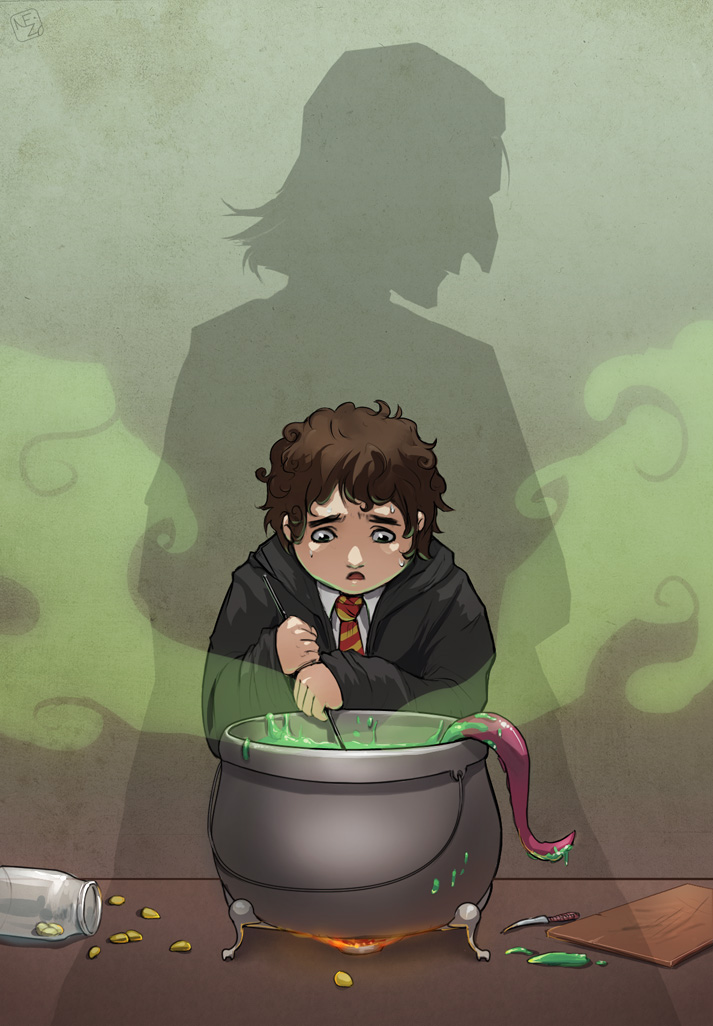 Potions lesson by Neizu