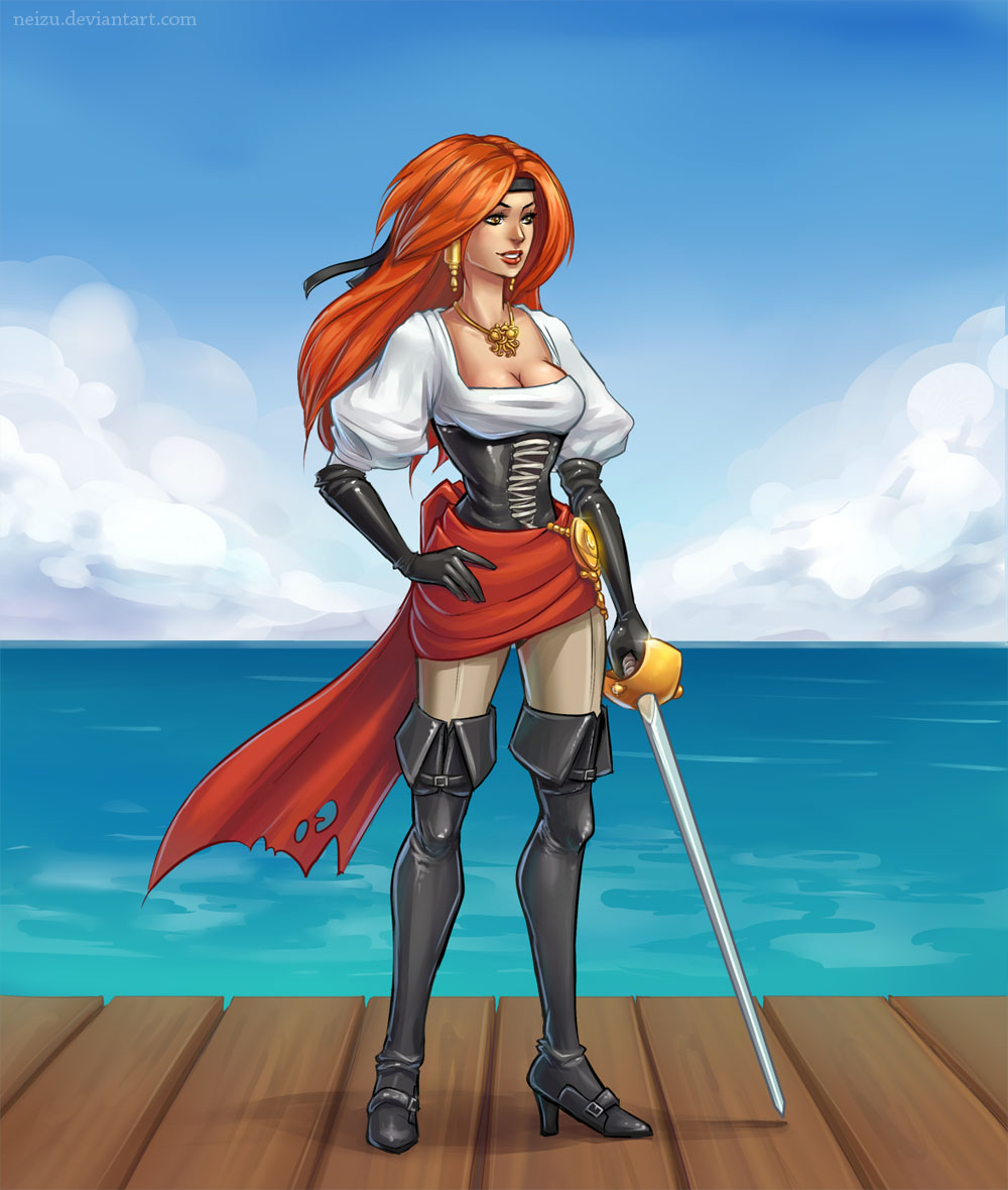 Pirate girl by Neizu
