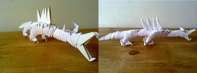 Modular Origami Dragon By Machinesway