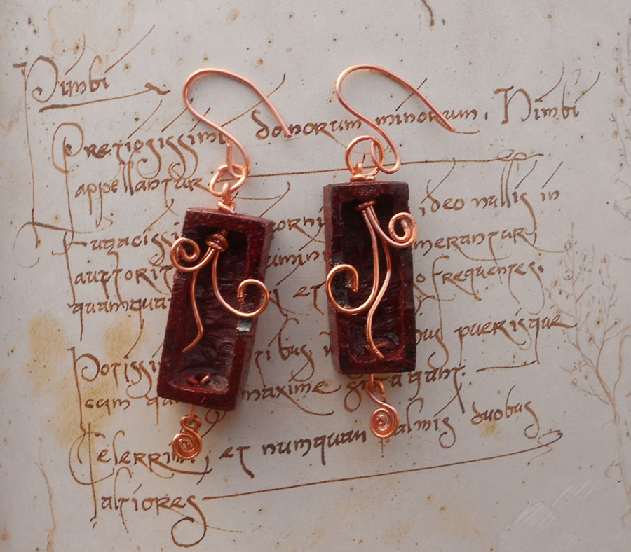 Tendril Earrings by Fandragon