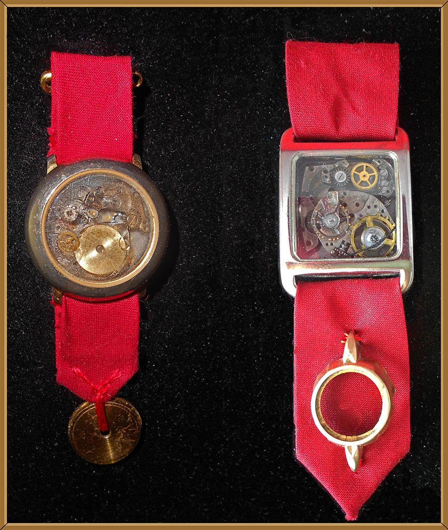 Steampunk Medals by Fandragon