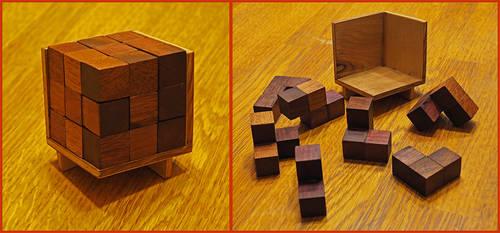 Soma Cube by Fandragon