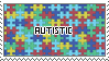Autistic Stamp by BockySeles