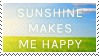 Sunshine Love Stamp by BockySeles
