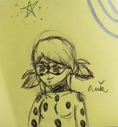 Ladybug/Marinette Sketch (1/3)