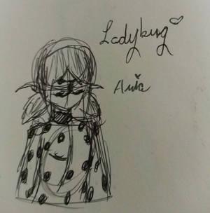 Ladybug/Marinette Sketch (2/3)