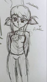Ladybug/Marinette Sketch (3/3)