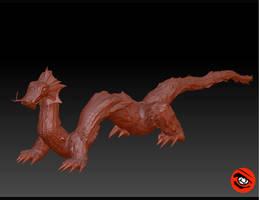 Chinese Dragon Zbush test