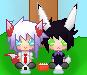 Pixel: Senpai and Kouhai by Izakun169