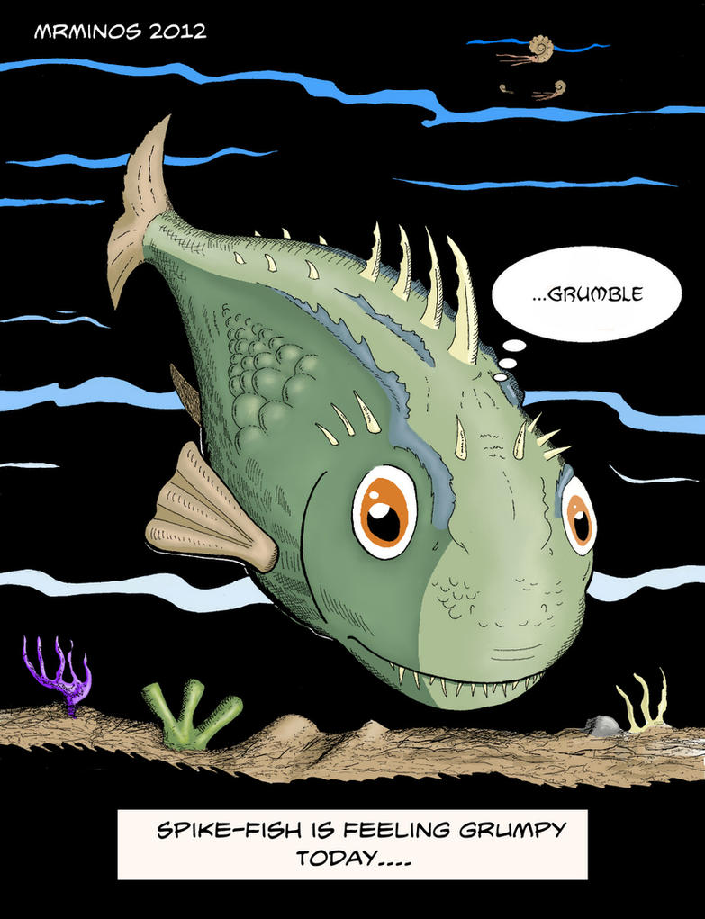 Spike Fish Color by MrMinos on DeviantArt