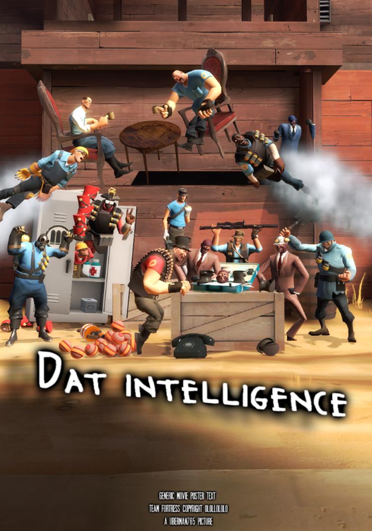 Dat intelligence by Uberman765
