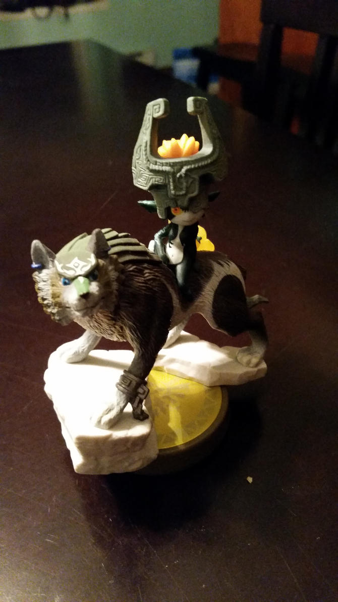 Wolf Link and Midna by ROOKIE745