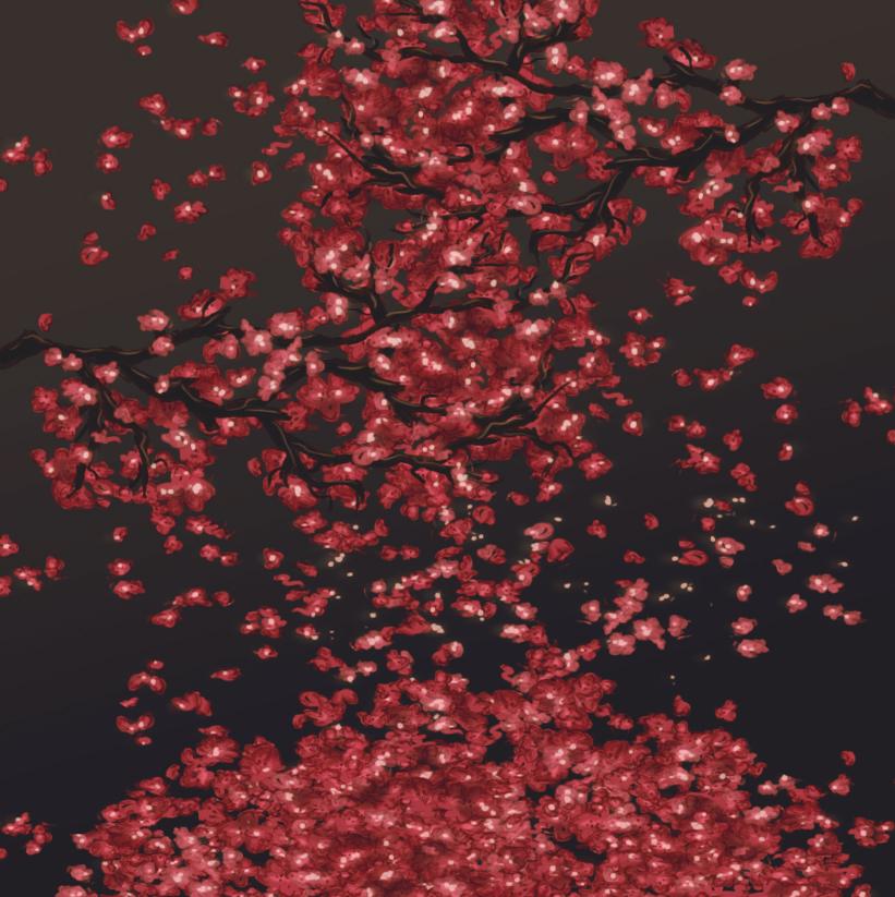 Cherry Blossom petals. by AbigailBC