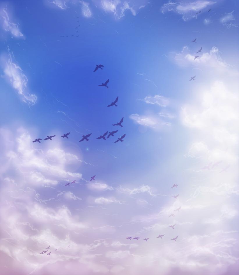 Spring Sky. by AbigailBC