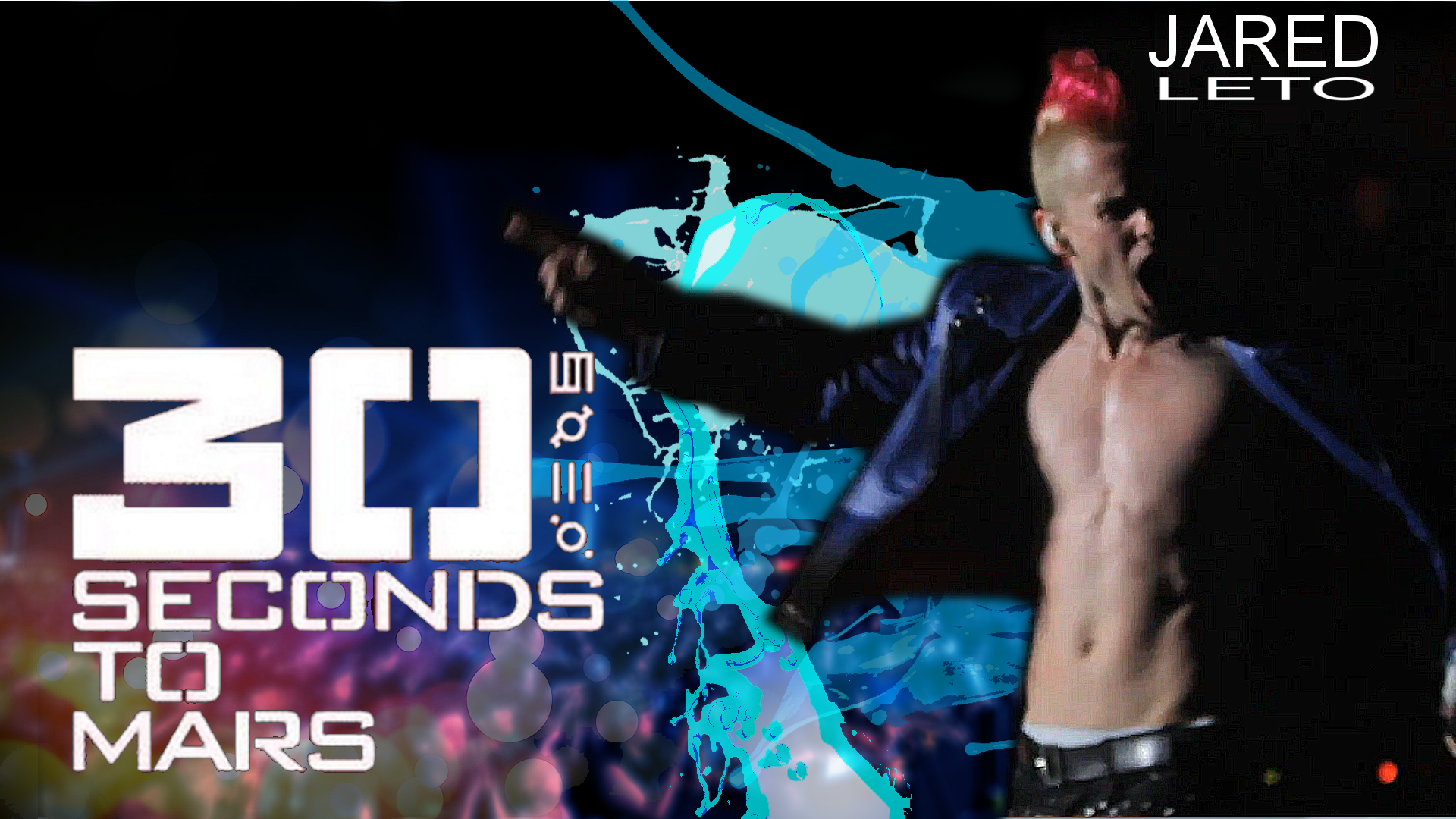 30 seconds to mars - Wallpaper - Jared by guichearmo on ...