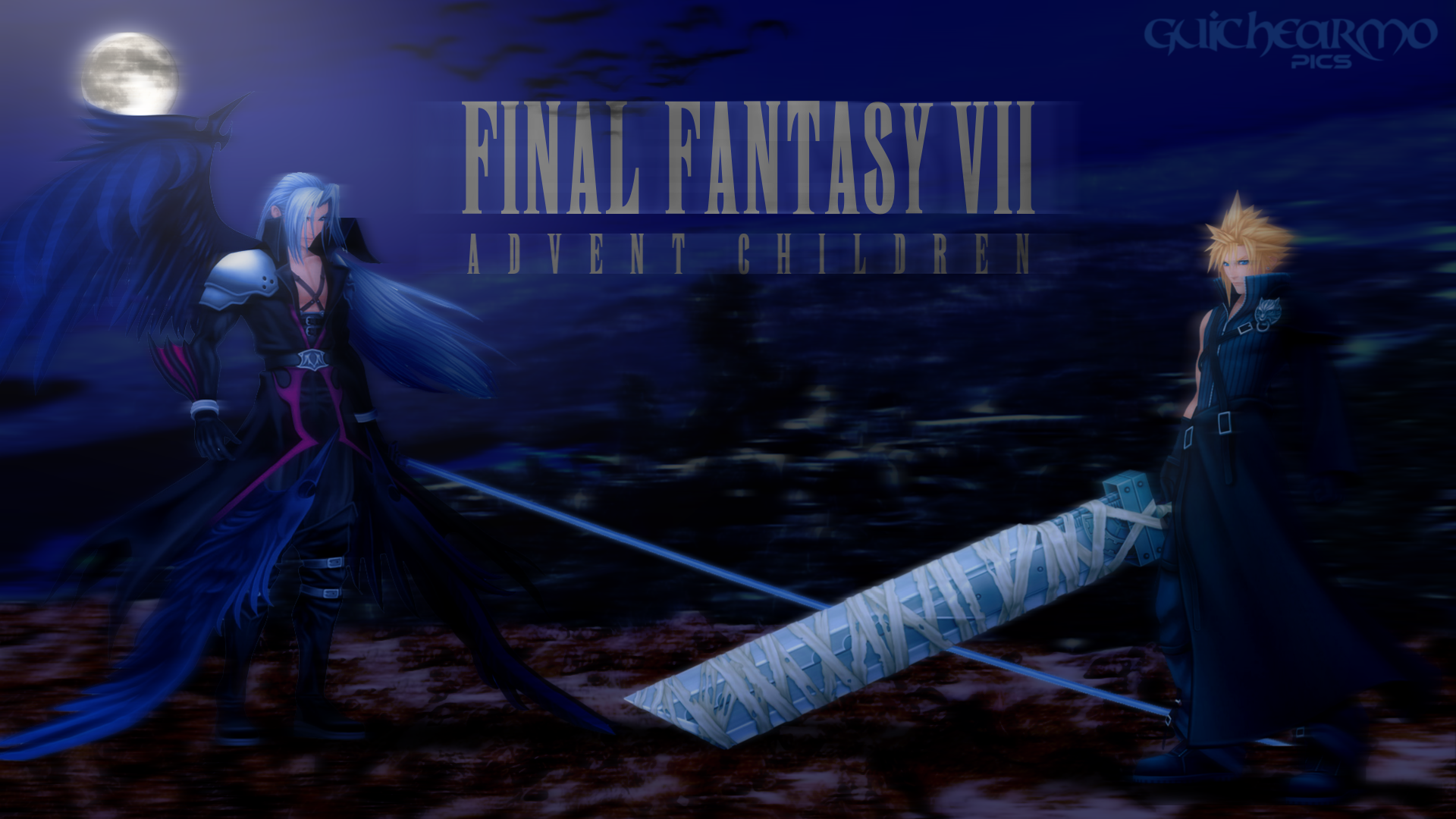 Final fantasy characters wallpaper cloud