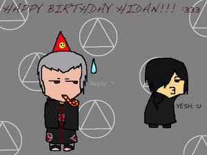 Happy Birthday Hidan! 2013