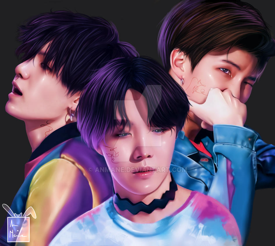 Bts Outro Tear Suga Jhope Rm By Anmane On Deviantart