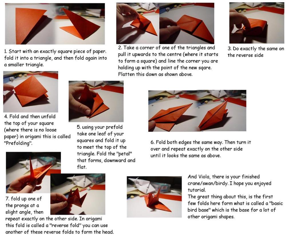 Crane bird origami tutorial by carriephlyons on deviantart for Crane tutorial