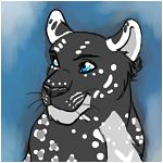 Black and White Leopard Icon by Leopard-Gryphon
