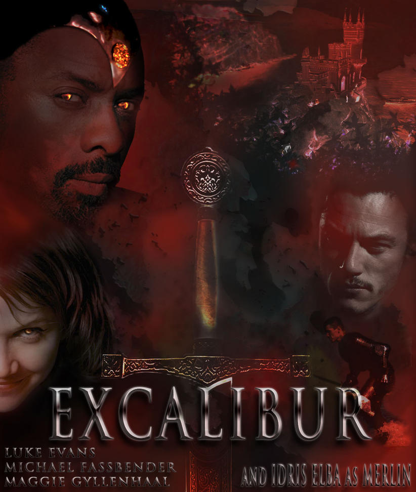 Excalibur movie poster