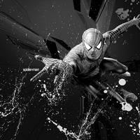 spider-man artwork by t1R3d