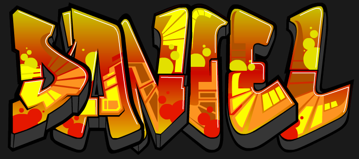Graffitis daniel , Imagui