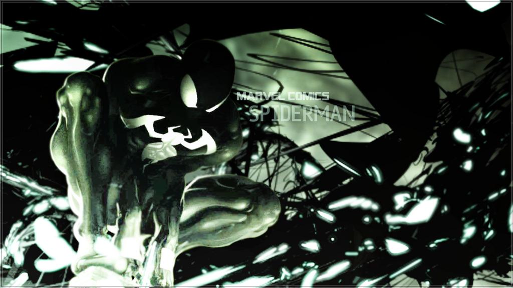 Spiderman Black Suit Wallpaper Black Suit Spiderman Wallpaper
