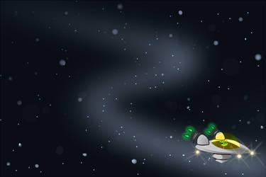 Deep Space by Pandachu
