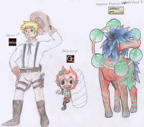 Character Select by Pandachu