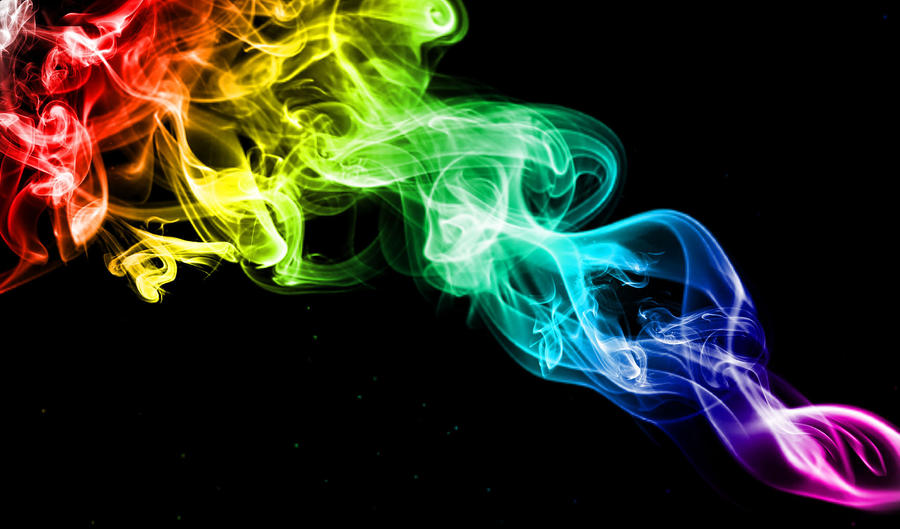 rainbow fire background - photo #6