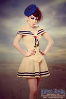 Vintage Sailor corset by ladymorgana