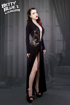 Vintage Black Lace